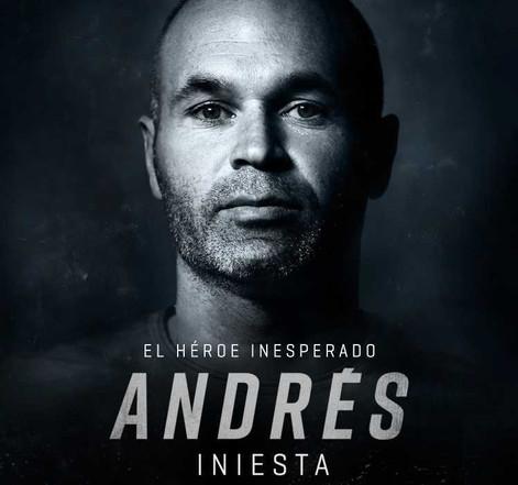"""Iniesta presenta su documental """"El héroe inesperado""""."""