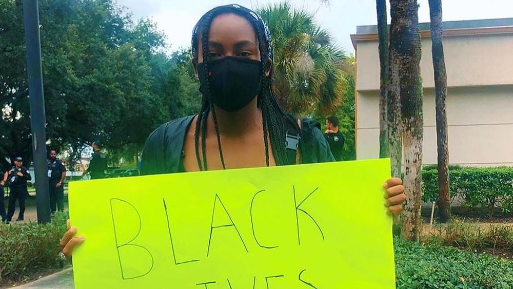 Cori Gauff Instagram publicacion Black Lives Matter