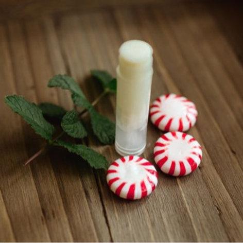 Homemade Peppermint Lip Balm