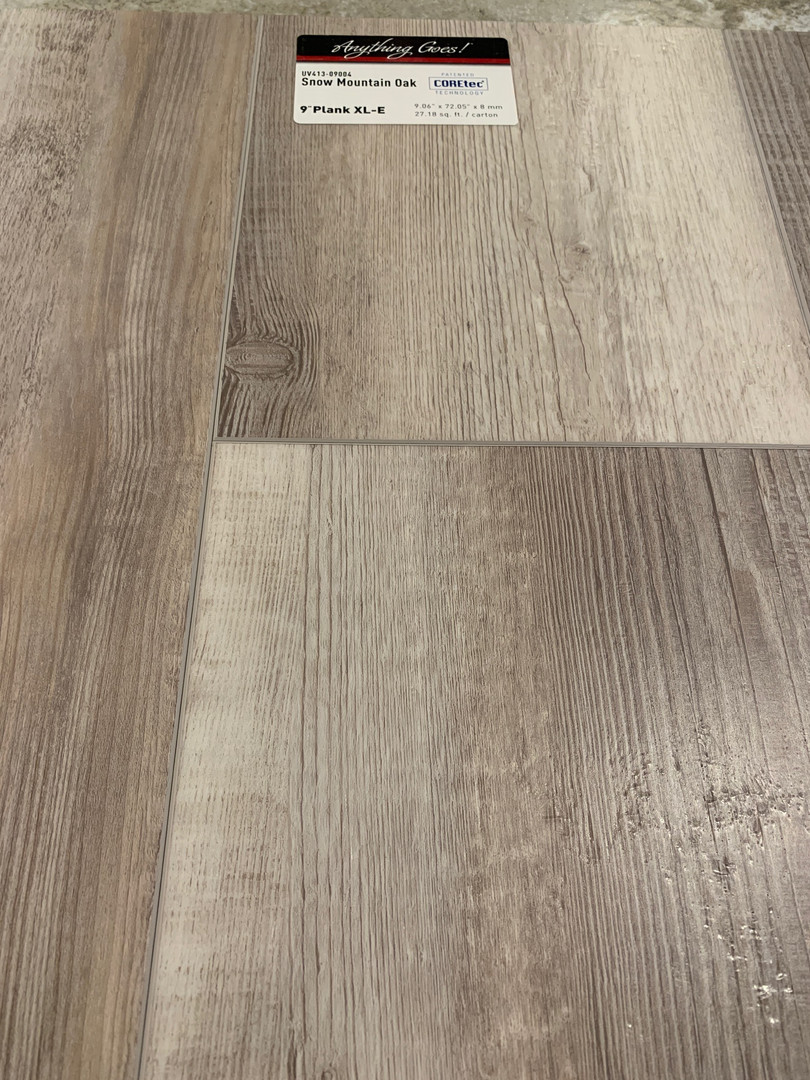 Snow Mountain Oak LVT
