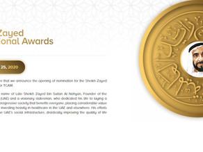 Derneğimiz BAE Şeyh Zayed Uluslararası Geleneksel ve Tamamlayıcı Tıp Ödülü Töreni için Onur Konuğu