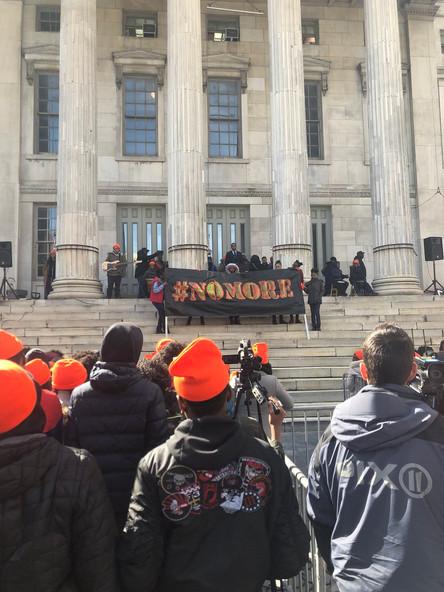 #NOMORE Rally