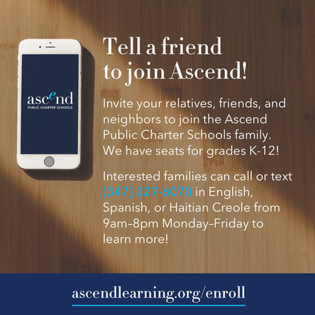 Tell a friend to join Ascend!