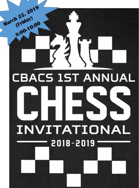 CHESS AT CBACS - Invitational (closed event)