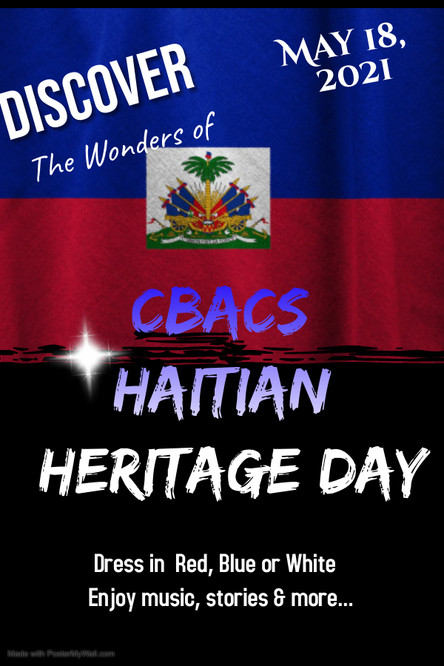 Haitian Heritage Day - Monday, May 18th!
