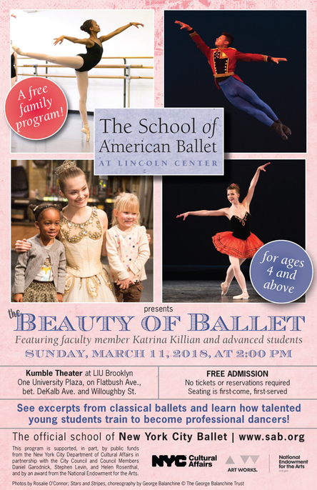 FREE Family Program:  The School of American Ballet