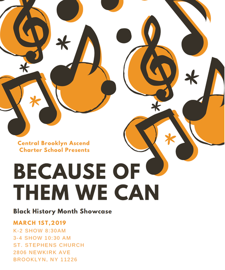 BECAUSE OF THEM WE CAN - Black History Month Showcase
