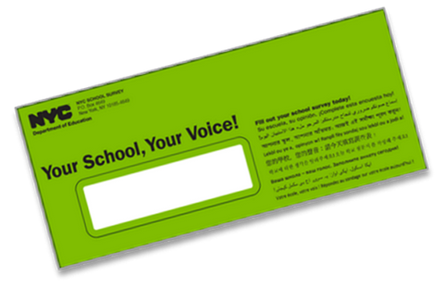 Deadline Extended Complete the NYC City School Survey 2018 for CBACS by Thurs. 3/29.
