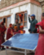 Installation of Solar Microgrid for teh