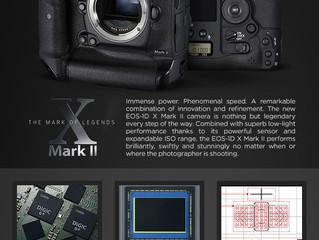 New!! Canon 1DX Mark II