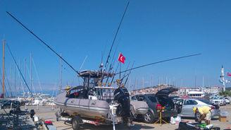 profesional fishing riging