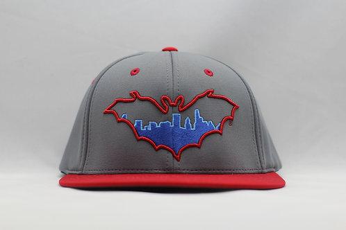 BatCity Charcoal/Red/Blue