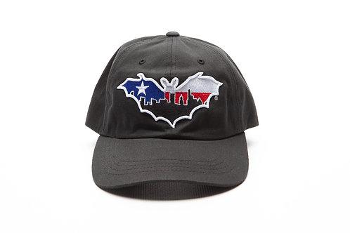 BatCity Black LoneStar Dad Hat