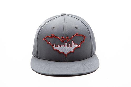 BatCity Charcoal/Burnt Orange Cap