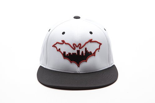 "BatCity White/Black ""Longhorn"" Cap"