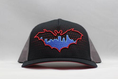 BatCity Black/RedDot SnapBack