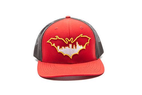 BatCity Red/Black/Yellow SnapBack