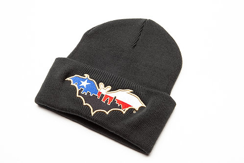 BatCity Black LoneStar Beanie