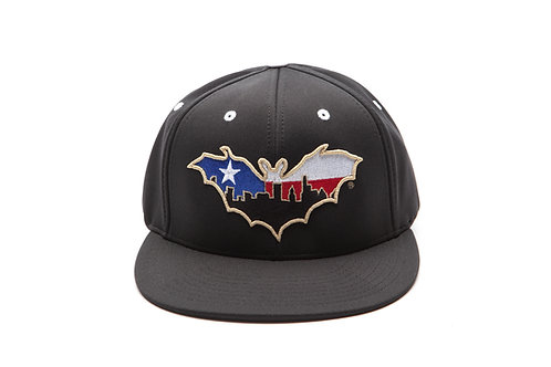 BatCity Black/White LoneStar Cap