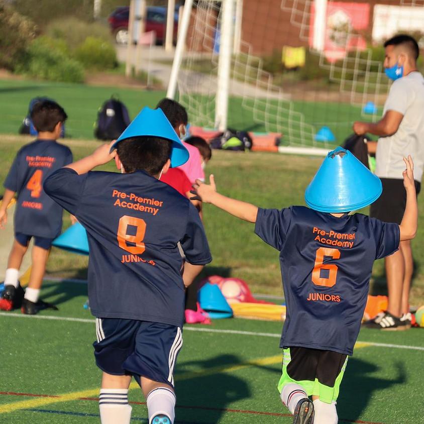 Spring Juniors: Pre-Premier Academy Ages 6-7