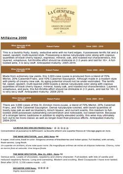 Château La Couspaude 2000