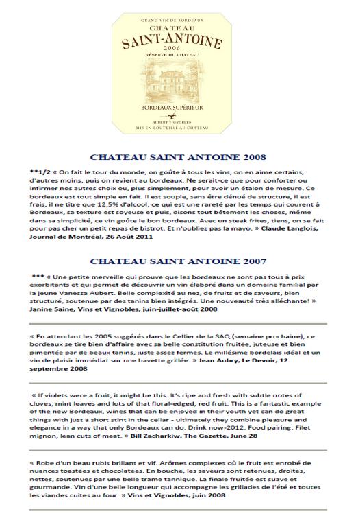 Château Saint Antoine part 2
