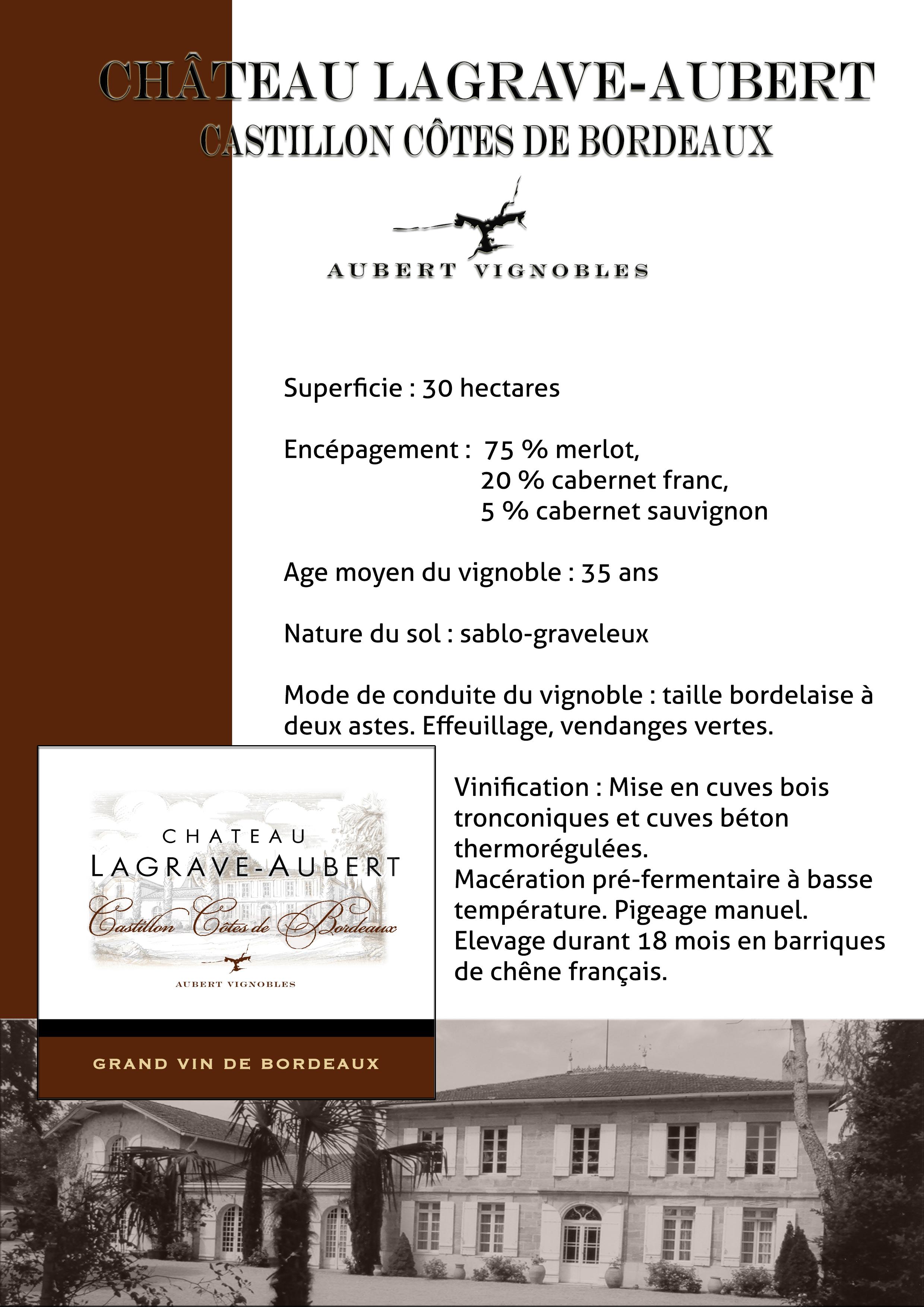 Château Lagrave Aubert