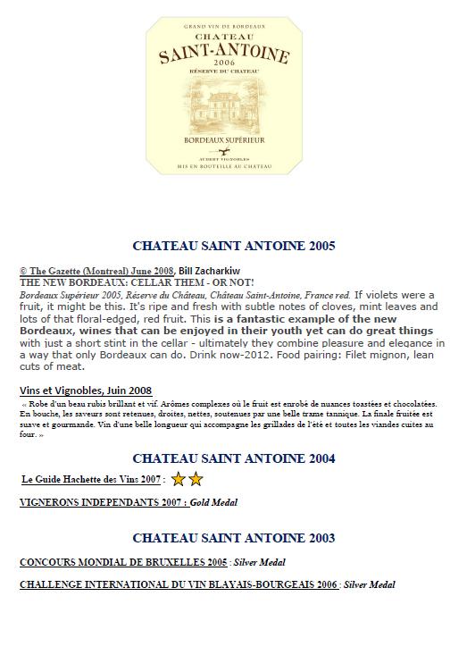 Château Saint Antoine part 3