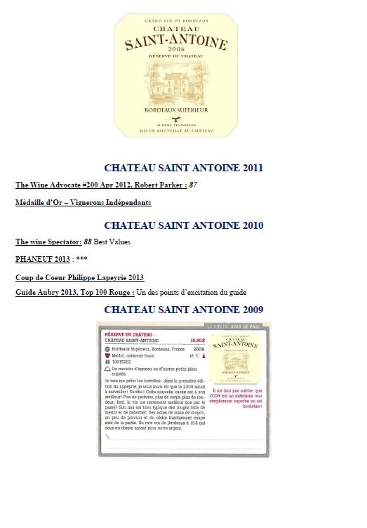 Château Saint Antoine part 1