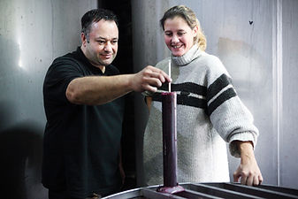 Vinification at château Saint Antoine