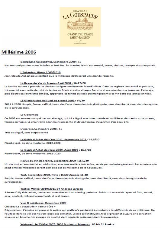 Château La Couspaude 2006 part 3
