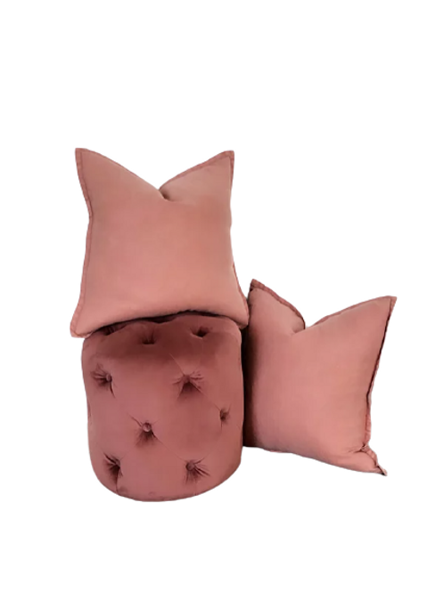 Cushions and ottamon