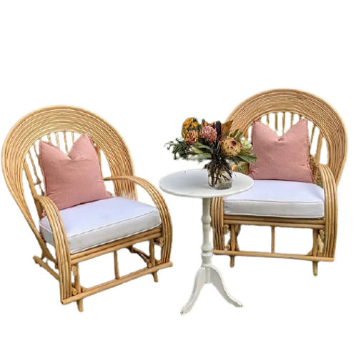 Rattan Luxe Chair