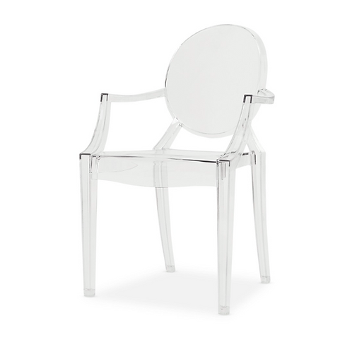 Ghost Chair with Arms