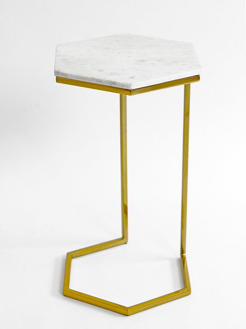 Marble Hexy Table