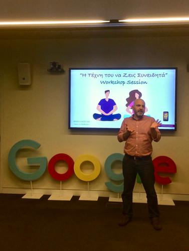 Google Mindfulness Training