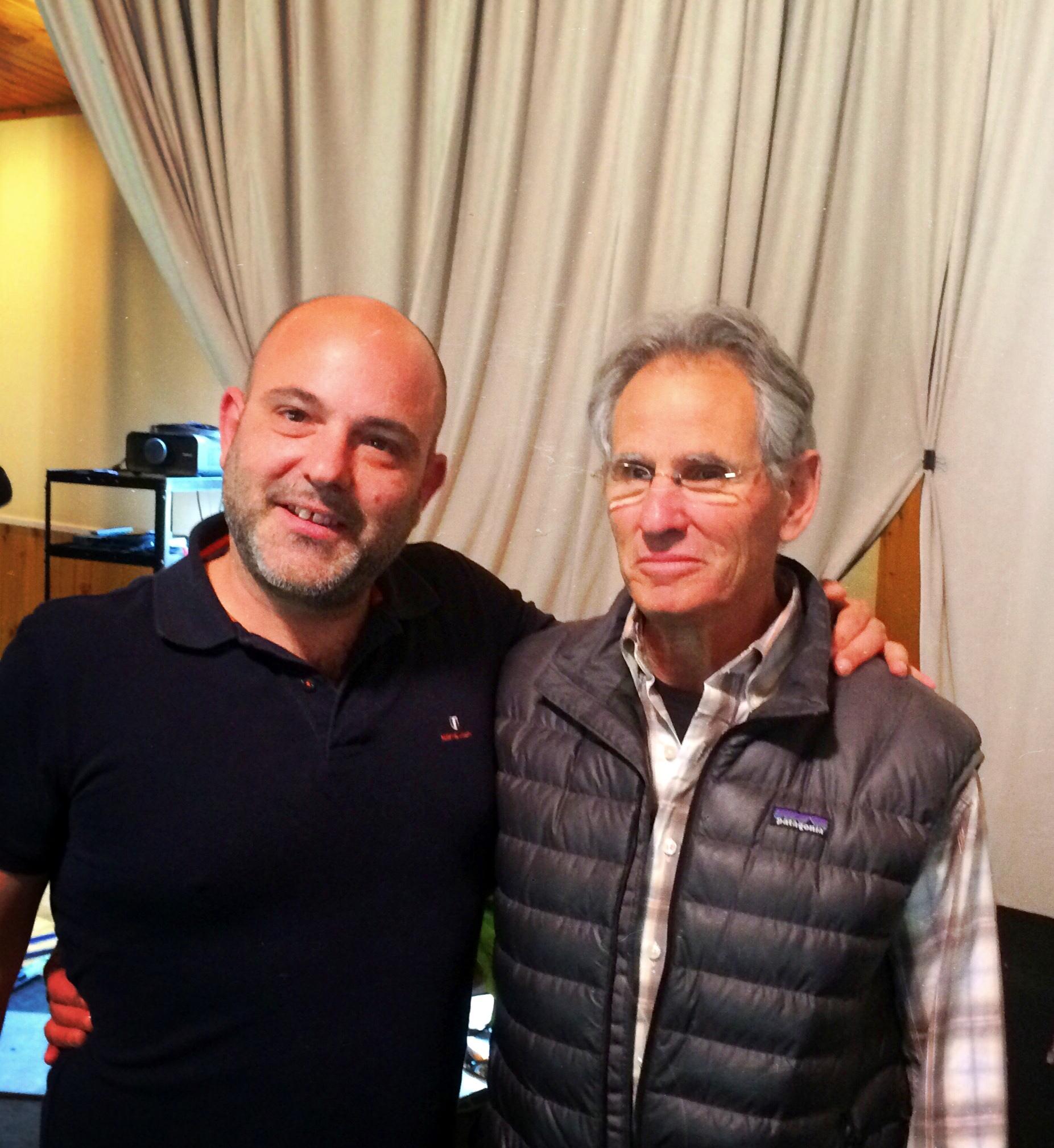 Vassilis with Jon Kabat-Zinn