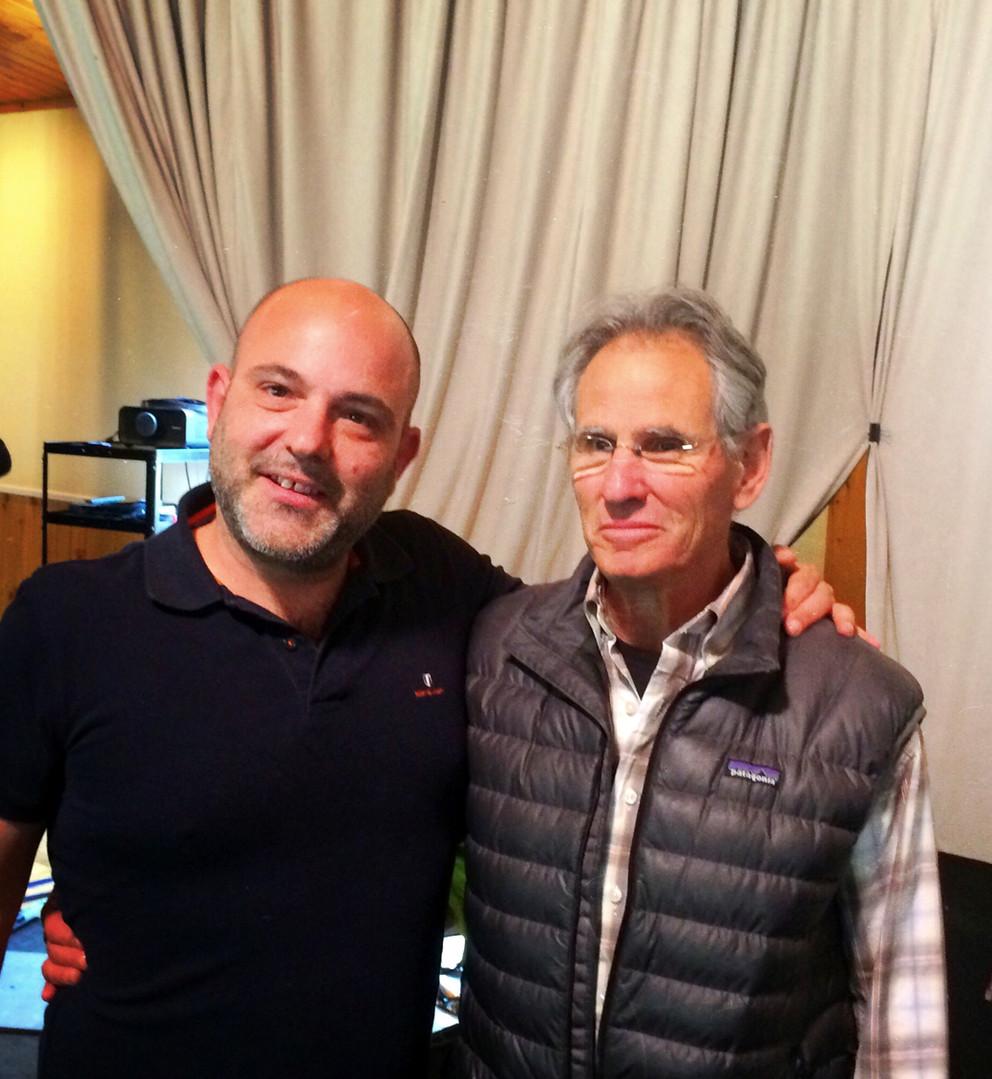With Jon Kabat-Zinn