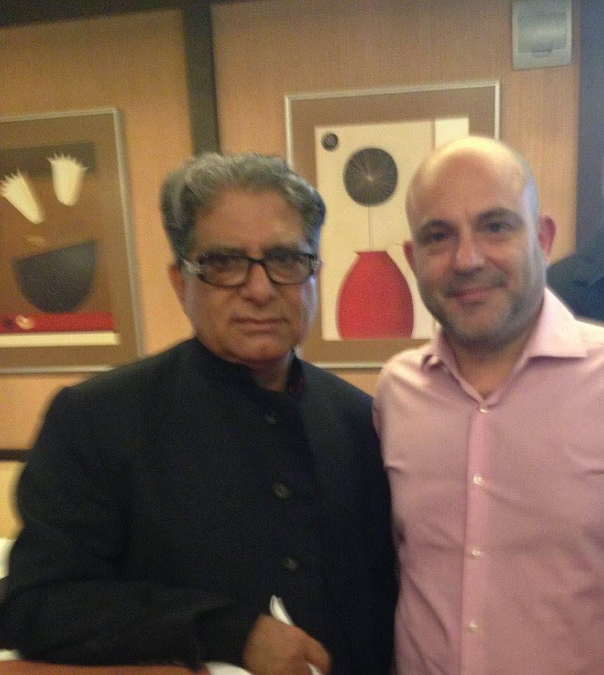 With Deepak Chopra