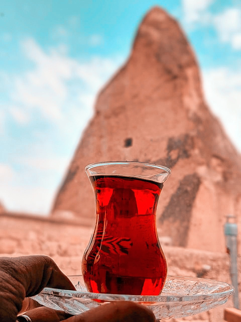 cappadocia | kapadokya | travel blogger | travel blog | blogger | love valley | red valley |rose valley | hot air balloon | travel photography | beautiful destination | tripotocommunity | trip advisor | turkey | turkey tourism | visit turkey | turkey travels | turkey igers | turkey shots | beautiful photographers | team pixel | google pixel | travel couple | couple blog | that nomadcouple | dr. nishita | dr. siddharth | couple who travels around the world | cave hotels | cave hotels in cappadocia | cave hotels at night | turkish tea | turkish tea cups |