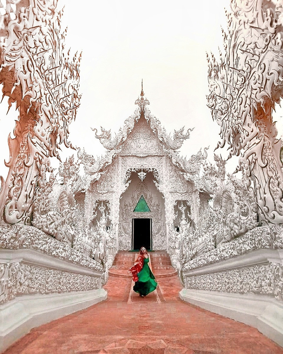 | chaing rai | thailand | temples | white temple | blue temple | black house | big buddha | wat rong khu | wat huay pla | thatnomadcouple | google pixel | team pixel | google pixel | travel | wanderlust | instagrammable temples in chaing rai | amazing temples in chaing rai | my_fernweh_soul | offbeat_trouvaille | instagram | backpackers | travel the world | Thai temple | Buddhist temple ||