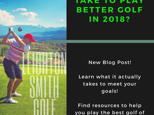 How to ACTUALLY Play Better Golf in 2018