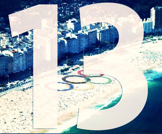Only 13 Days Until the Rio Olympics Games!