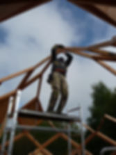 construction du zôme