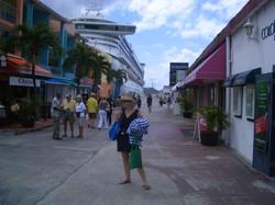 Ship at Aruba