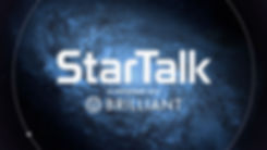 StarTalk title screen with logo