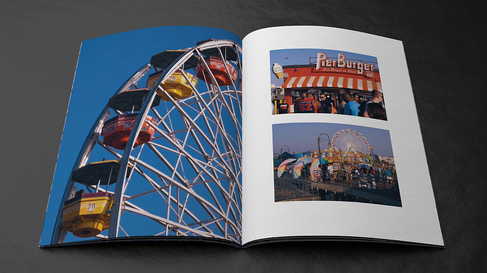 Images from the Santa Monica Pier