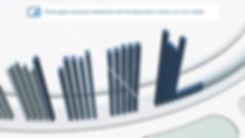 3D bar chart in a circular design by Bård Edlund / EDLUNDART