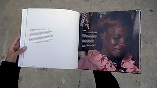 Photo book designed by EDLUNDART for Doctors Without Borders