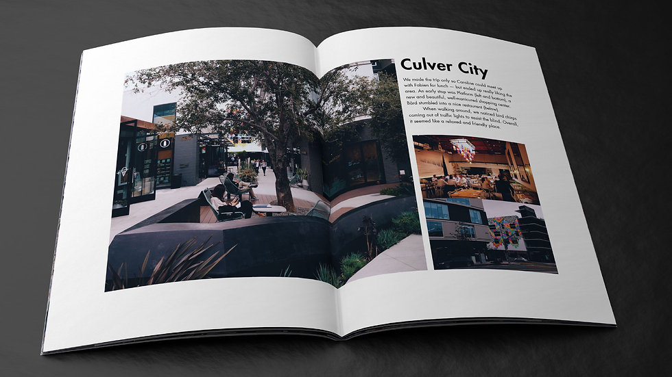 LA's Culver City is introduced in magazine spread by Bård Edlund